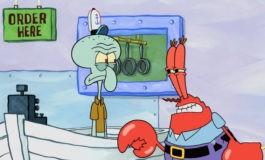 Котенок Кенни / Снежный Краб – фото момента из 10 серии 9 сезона сериала Губка Боб